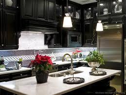 Black Kitchen Backsplash Kitchen White Cabinets With Black Kitchen Hood Kitchen Backsplash