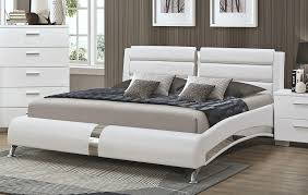 Palermo Modern Platform Bed Collection