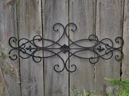 decorative wrought iron wall dcor art