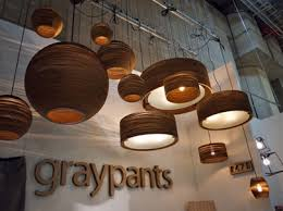 Eco friendly lighting fixtures Recycled Recycled Lighting Cardboard Graypants Bob Vila Shedding