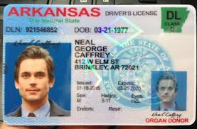 New golfclub Driver's License Mass -