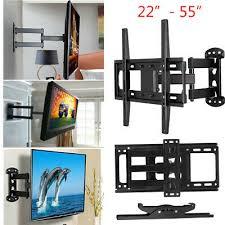 heavy duty tv wall bracket tilt swivel