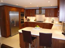 Kitchen Snack Bar Kitchen Enchanting L Shaped Kitchen Layout In Your Room L Shaped