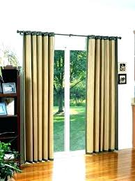 back door window curtain over patio ideas small front curtains