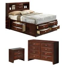 Linda Platform Configurable Bedroom Set