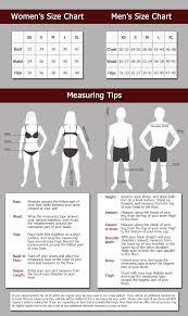 Size Chart Women S Size Chart Xs S M L Xl Bust 32 34 36 38