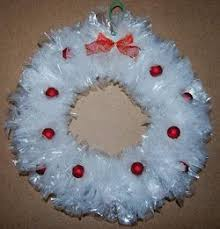 Christmas Door Wreaths  18 Craft Ideas With Cheap MaterialsChristmas Crafts Recycled Materials