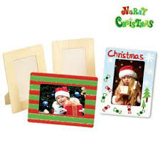 Christmas Photo Frames For Kids 4pcs Lot Paint Unfinished Square Picture Frames Photo Frame