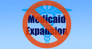 Image result for image of the failure of medicaid expansion
