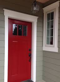 best paint for front doorBest 25 Red door house ideas on Pinterest  Red front doors Red
