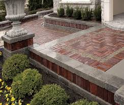 Small Picture Brick Pavers and Retaining Walls Vincents Lawn Maintenance and