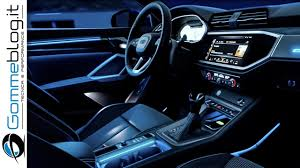 Q3 Led Interior Light Package Audi Q3 2019 Interior 3d Sound System Ambient Light Adas How Work