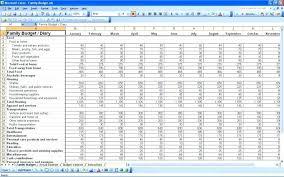 budget spreadsheet printable blank household budget worksheet printable template spreadsheet word