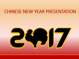Chinese New Year Ppt Free Chinese New Year Rooster Presentation Templates At