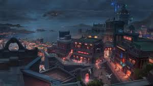Anime City Wallpaper 1920x1080 posted ...