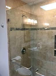 custom glass denver shower doors glass shower and door installed in glass shower enclosures co shower