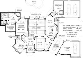 English country Style House Plans   Plan   Main Floor Plan