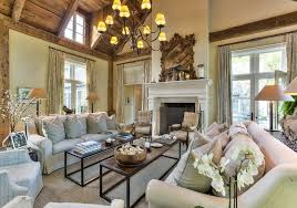 Stocking Holders In Living Room Traditional With French Country French Country Fireplace