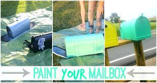 painted mailbox designs. Sightly Mailbox Painting Ideas Paint Elegant Your Sugar Bee Crafts Beautiful . Painted Designs