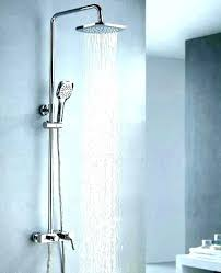 shower heads shower head from ceiling heads reviews rainfall mount rain