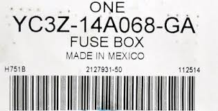 oem new 2001 2010 ford f650 f750 fuse box junction yc3z14a068ga oem new 2001 2010 ford f650 f750 fuse box junction yc3z14a068ga