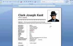How To Do A Resume On Microsoft Word 2010 How To Make A Resume In Word 24 Shalomhouseus 9