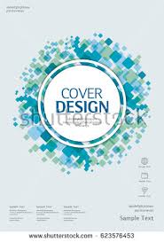 business vector template book cover annual report design layout brochure catalog