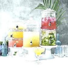 glass dispensers