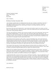 formal complaint letter cover letter sample  formal complaint letter