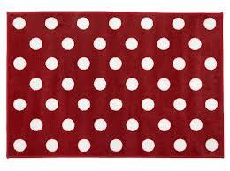 kit for kids red white polka dot rug for bedroom playroom
