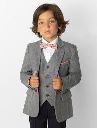 Light Grey And Burgundy Suit Boys Grey Tweed Suit Alfie