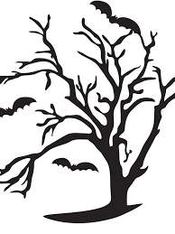 CI Kori Clark_Pumpkin carving template Spooky tree_s3x4.rend.hgtvcom.1280.1707 55 templates to take your pumpkin carving to a whole other level on scary pumpkin stencils free printable