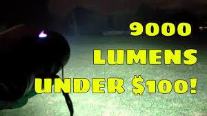 NEW SALES!) 9000 Lumens HaikeLite MT03 II Beamshots REVISIT! - YouTube