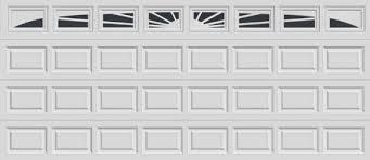 clopay garage door window insertsDoors Done Right  Garage Doors and Openers  16 ft Raised Panel