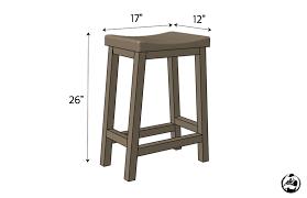 diy bar stool plans dimensions