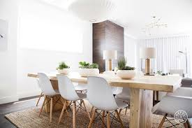 chunky dining room table endearing decor chunky wood dining table eames molded plastic chairs nelson saucer