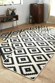 rugs original rug black cream and design interior creative black and cream rugs black and