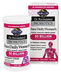 garden of life dr formulated probiotics once daily women s 50 billion cfu 30 vegetarian capsules at luckyvitamin com