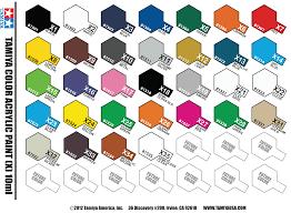 Full Set Of 33 X And 71 Xf Tamiya Acrylic Paints