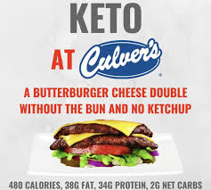 Culver S Nutrition Information Chart Keto At Culvers In 2019 Keto Keto Fast Food Keto Restaurant