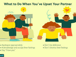 how to respond after you hurt your partner