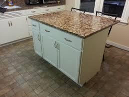 diy kitchen island. DIY Kitchen Island From Cabinets Diy