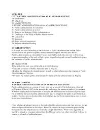 introduction to publicadministration 32 module 2 unit 1 public administration