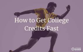 How To Get College Credits Fast 2019 Ultimate Guide
