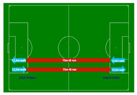 interval fifa fitness test for referees