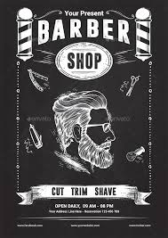 barber flyer barber shop flyer template by yudha_sbs graphicriver