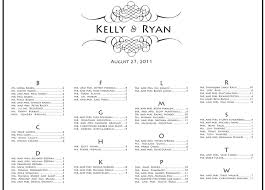 wedding guest seating chart template literarywondrous wedding guest seating chart table reception