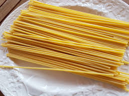 Image result for dried bucatini
