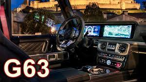 Here it is, the all new mercedes g63 amg with the night package! 2019 Mercedes Amg G63 Interior 585 Hp Youtube