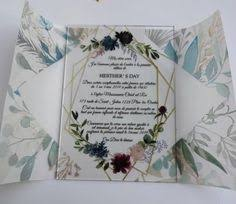 <b>10 pieces Lot</b>- Acrylic personalised <b>custom</b> wedding invitation ...